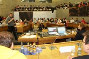Bildungspolitik im Rathaus PforzhemKomprimiert