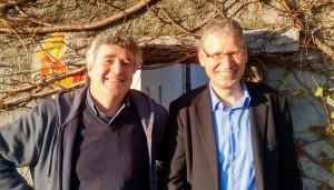 Udo Wenzl und Friedhelm Werner